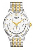 Tissot Analogue White Dial Men's Watch - T0636372203700