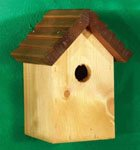 Tom Chambers 28mm Entrance Cosy Bird Roof - Brown by JB Retail Solutions