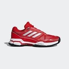 Adidas Barricade Club Clay, Zapatillas de Tenis para Hombre, (Rojo 000), 42 2/3 EU