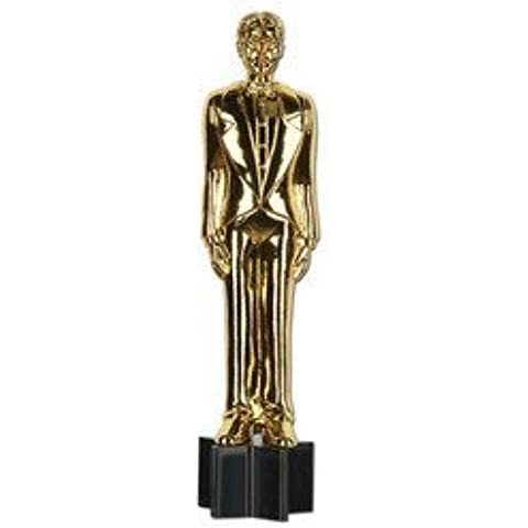 Beistle 57494 Awards Night Male Statuette Cutout by Beistle