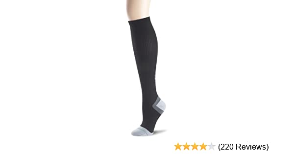 1000 Mile Tactel Mens White Foot Ankle Support Compression Tactel Socks 3 Sizes