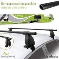 BB-EP Barre Portapacchi 90114107 per Renault Scenic II - dal 06//2003 al 2008 con Punti di Fissaggio 5 Porte MPV