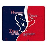 NFL Houston Texans Logo Custom Mouse Pad