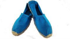 La boutique des petons ,  Unisex-Erwachsene Espadrilles Blau