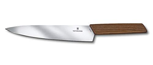 Victorinox Couteau à découper, en noyer