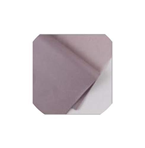 40Pcs / 50 Set * 70cm Seidenpapier Blumen-Kleidung Hemd Schuhe Geschenk-Verpackung Craft Papierrollenwein Wrapping Papers, Warm Grey Glitter Roller Schuh