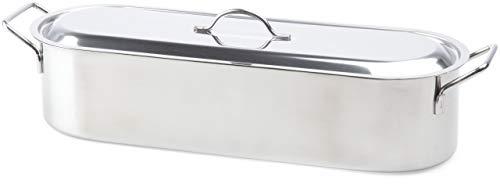 Beka 14700014 - pentola per pesce in acciaio inox, adatta a tutti i tipi di cottura, 45 cm