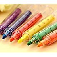Zantec Spritze Textmarker Filzspitzen - verschiedene Farben und Packungen (6 Stück) preisvergleich bei billige-tabletten.eu