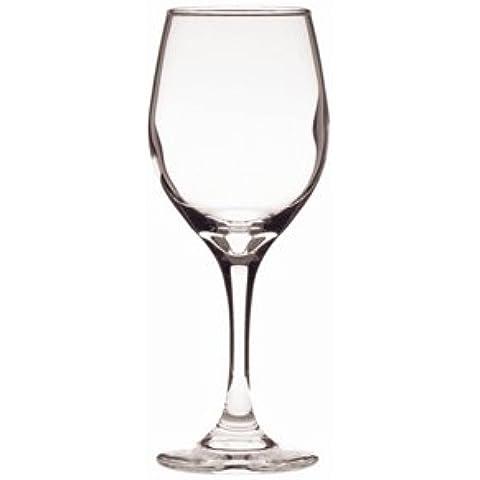 Libbey percezione da vino in vetro, 11 oz. Quantità: 24. per bibite con marchio CE, 250 ml