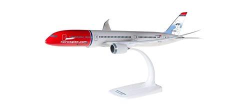 snap-fit Herpa 611503-001 Norwegian Boeing 787-9 Dreamliner Snap Fit