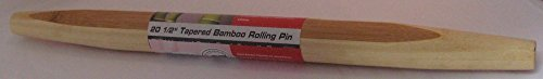 Island Bamboo 20-1/2-Inch Taper Rolling Pin by Island Bamboo Hue Bamboo Rolling Pin