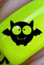 Halloween Chauve-souris mignonne - Stickers pour ongles YRNAILS