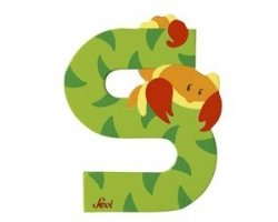 Sevi Alphabet Buchstaben Graffiti Animal, Buchstabe Skorpion S