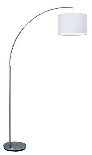 Brilliant AG 13258/05lámpara de pie metal/Textil 60W E27transparente