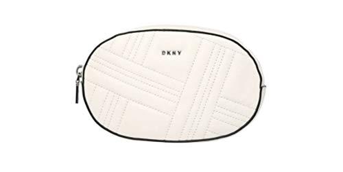 DKNY Donna Karan New York , Damen Schultertasche Weiß Bianco 18 x 11.5 x 4.5 cm