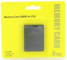 Generic PS2 8MB Memory Card (Black) By Ae zone