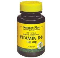 Natures et comprimés de 100 MG de vitamine B-2 90