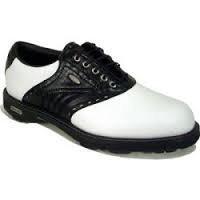 HI-TEC Custom Comfort CDT White/Black/Croc Golfschuhe Herren 46 (Comfort Golfschuh White)
