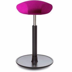 Ongo Sitz- und Stehhocker Free 58-82cm Triangle-Sitz Kvadrat divina pink/schwarz/schwarz