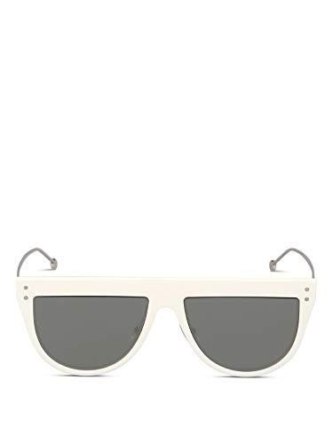 Fendi Luxury Fashion Herren FF0372SVK6T4 Weiss Sonnenbrille | Herbst Winter 19