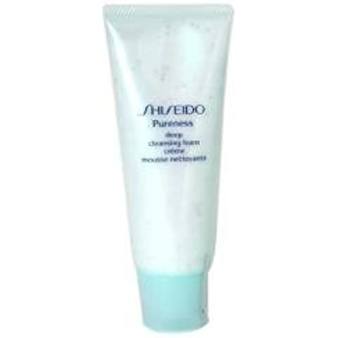 Shiseido Pureness Deep Cleansing Foam--/3.3OZ by (3.3 Ounce Cleansing Foam)