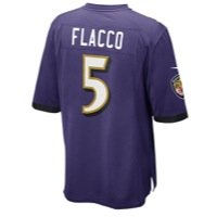 Nike NFL Baltimore Ravens Home Game Jersey - Joe Flacco Medium Joe Flacco Jersey