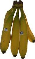 Obst & Gemüse Bio Bananen Farbe 4-5 gelb/grün (1 x 1000 gr)