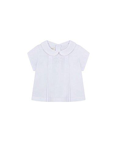 Gocco S81CBCCA201 Blusa, Blanco, 6 Meses para Bebés