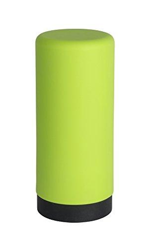 Wenko 54690100 Spülmittelspender Easy Squeez-e Seifenspender, Fassungsvermögen 0,25 Liter Silikon, 6 x 14 x 6 cm, grün