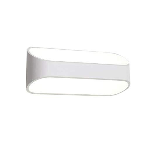 E-L Badezimmerspiegellampen Moderne Aluminiumwandlampe Kreative Schlafzimmerlampe Hotelzimmer Badezimmer Flur Eingang Treppe Spiegel Frontlampen, 5w25cm
