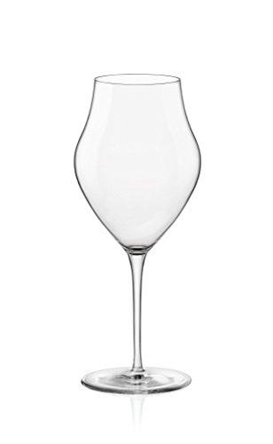 Grands verres à vin Inalto Arte de Bormioli Rocco - Coffret-cadeau de 6 verres - 465 ml (15,75 oz)