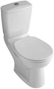 Villeroy & Boch Spülkasten (ohne WC, ohne Sitz) OMNIApro Zulauf seitl. weiß alpin mit Ceramikplusbe