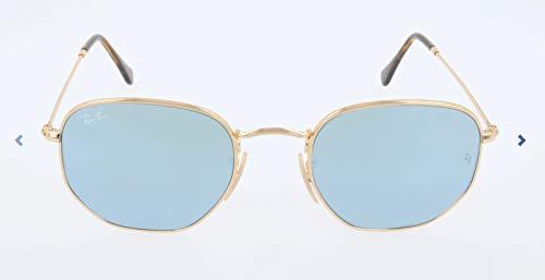 RAYBAN JUNIOR Unisex-Erwachsene Sonnenbrille Hexagonal Gold/Goldflash, 54