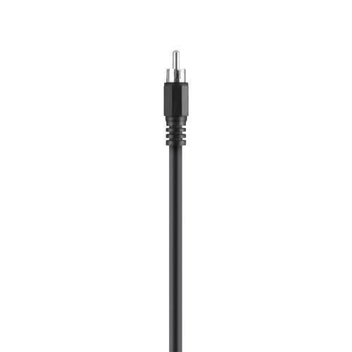 Belkin F3Y095BF1M Koaxial Kabel (1,0m digital) schwarz Belkin Kabel Audio-adapter