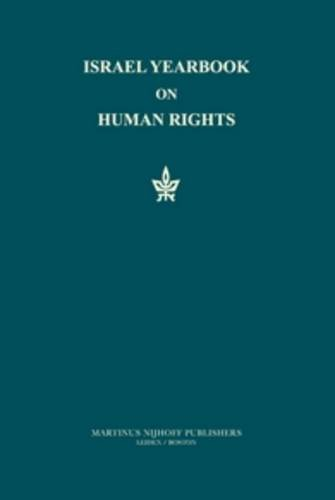 Israel Yearbook on Human Rights, 1988: v. 18