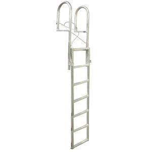 Dock Edge 7 Stufen hoch Dock Leiter-Metallic