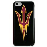NCAA Arizona State Sun Devils Case for iPhone 5C, Black, One Size
