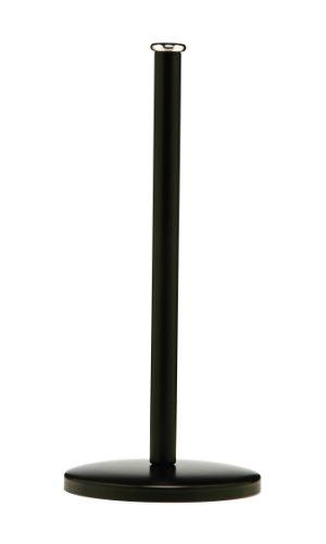 premier-housewares-porte-essuie-tout-metal-noir-mat-14-cm-x-31-cm