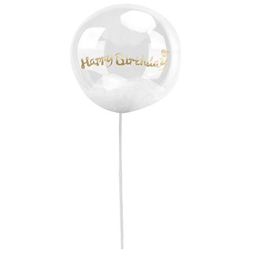 Wifehelper Dekorativer Ballon-Dekorations-Partei-Verzierungs-Versorgungen für Geburtstags-Hochzeitstorten-Tabelle (4#)