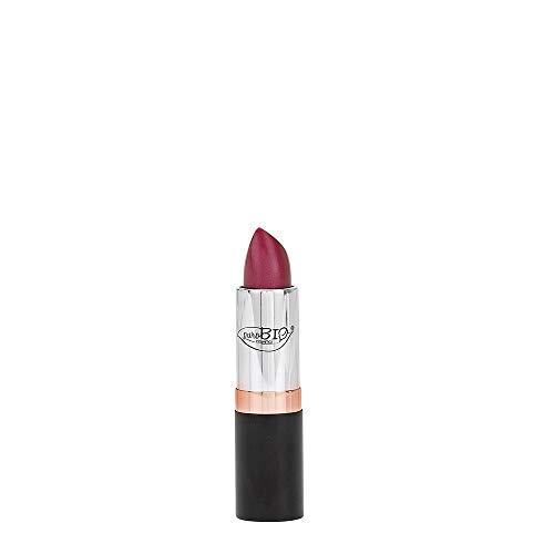PUROBIO - Rouge à lèvres Bio n. 15 - Métal pourpre - Hydratant, Texture douce, Couleur riche - Testé au nickel, Produit biologique, Végétalien - 3,5 gr