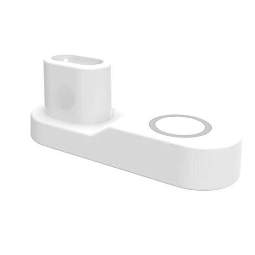 Preisvergleich Produktbild happy event 10W 4 in 1 Schnellladung Kabelloses Ladegerät für iPhone für iWatch Für AirPods (Weiß)