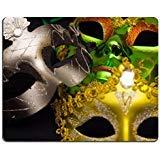 MSD Mousepad Bild-ID 23824754Karneval Maske auf einem schwarzen Hintergrund Fotografie 548 -