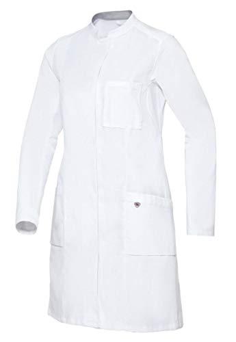 BP 1752-130-0021 Med & Care Damen Arztkittel, Baumwolle, Weiß, Größe 40n