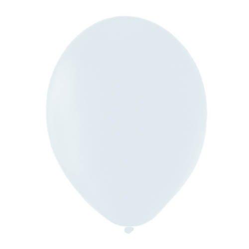 PARTY DISCOUNT Luftballon Premium Schnee Weiß, 50 Stk.