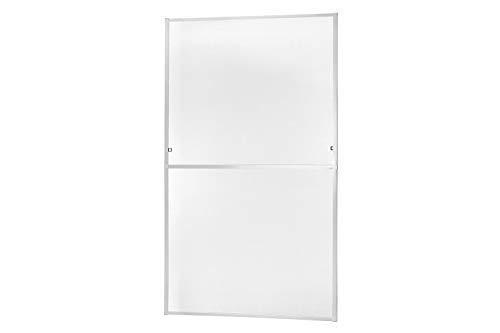 Insektenschutz Fliegengitter Fenster Alurahmen MASTER SLIM XL in weiß, braun oder anthrazit 130 x 220 cm