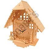 Kuckucksuhr: Holz-Handwerk Montage Holzbau Clock Kit -