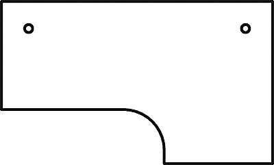 HAMMERBACHER VOS82/W Schreibtisch L-Form weiß,SI (L-form Schreibtisch Weiß)