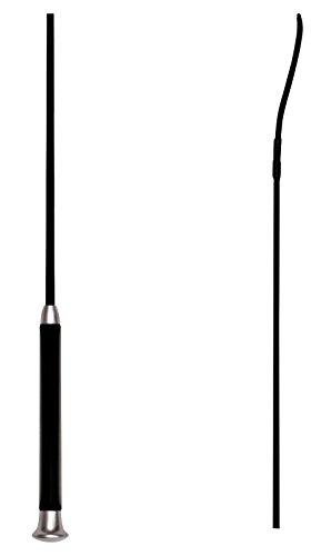 Reitsport Amesbichler Waldhausen Dressurgerte Gerte Gel | Gerte Gerte 100 cm SCHWARZ