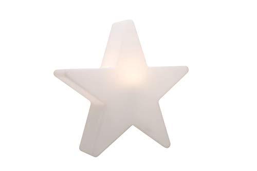 8 seasons design | Dekorative Leuchte Stern Shining Star Mini (E27, Ø 40 cm, für außen & innen: Garten, Balkon, Wohn- & Esszimmer, Kinderzimmer) weiß