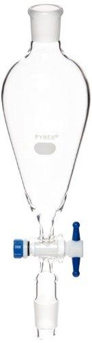 Corning Pyrex Borosilikat Glas Komplett Trichter, 125ml Fassungsvermögen (Fall von 4) - Glas Pyrex Trichter